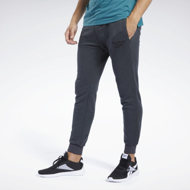 Men Fitness & Training Black Training Essentials Melange Jogger
