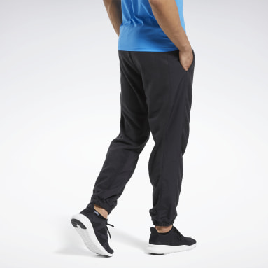 Men Fitness & Training Black Workout Ready Pants