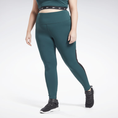 Leggings Beyond The Sweat (Taglia plus) Verde Donna Ciclismo