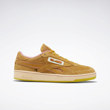 Classics Yellow Tom and Jerry Club C Revenge Shoes