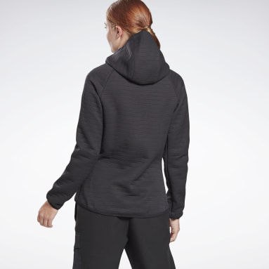 Women Training Black Thermowarm Deltapeak Performance Jacket