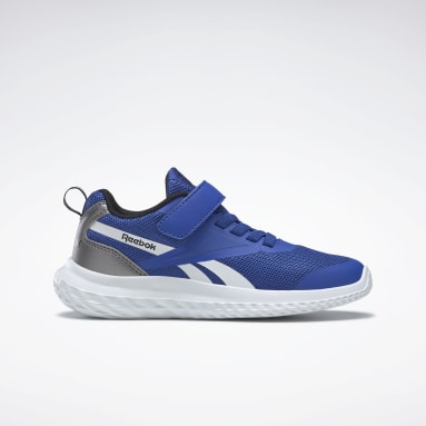 Boys Running Blue Reebok Rush Runner Alt Shoes - Preschool