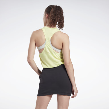 Women Cycling Burnout Tank Top