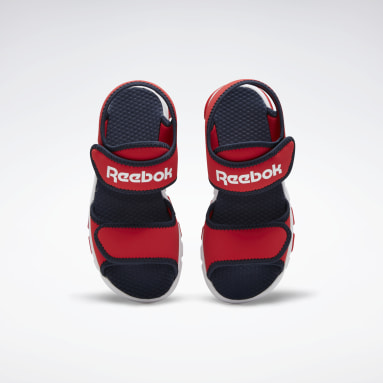 Running Red Wave Glider III Sandals