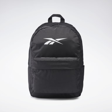 Cross Training Black Linear Logo Backpack