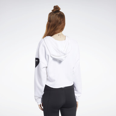 Women Fitness & Training White Meet You There Hoodie