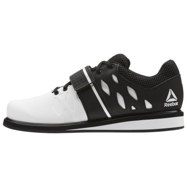 Men Cross Training Black Reebok Lifter PR Shoes