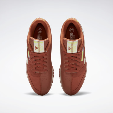 Classics Orange Classic Leather Shoes