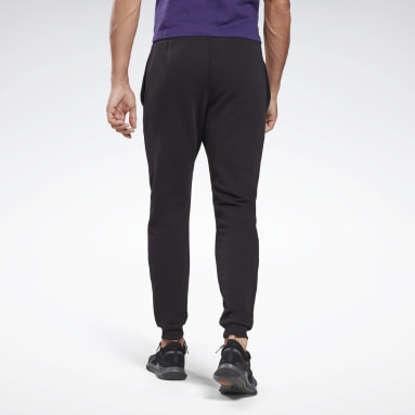 Men Fitness & Training Black Reebok Identity Joggers