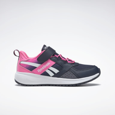 Girls Running Blue Reebok Road Supreme 2 Alt Shoes