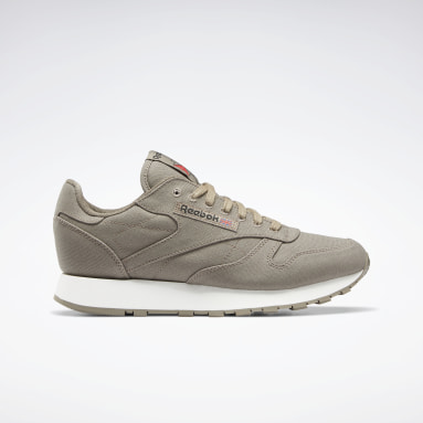 Classic Leather Grow Gris Classics
