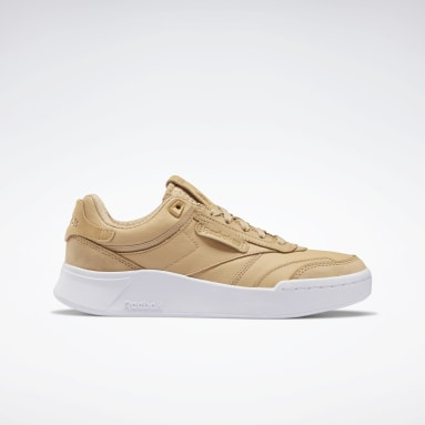 Women Classics Beige Club C Legacy Shoes