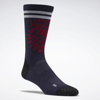 CrossFit Purple CrossFit® Crew Socks