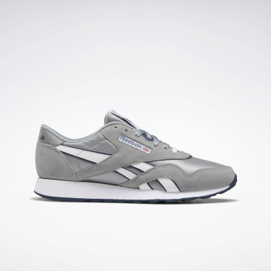 Men Classics Grey Classic Nylon Men's Shoes
