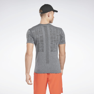T-shirt sans coutures United By Fitness Gris Hommes Cyclisme
