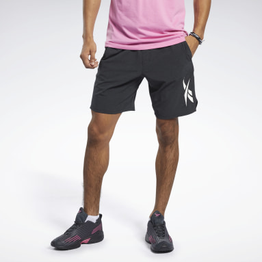 Mænd HIIT Black Textured Epic Shorts