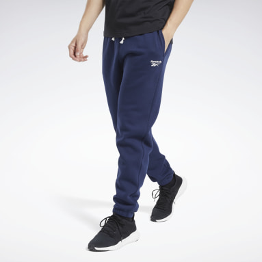 Pantalon Training Essentials Cuffed Blue Hommes Entraînement