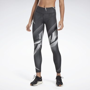 Women Fitness & Training Black MYT Printed Leggings