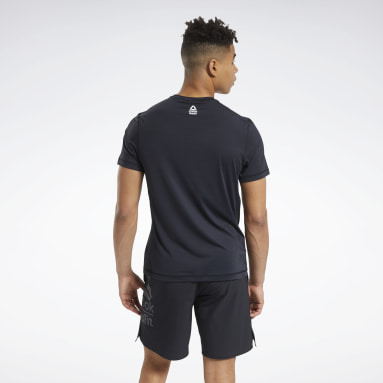 RC ACTIVCHILL Tee Noir Hommes Cross Training