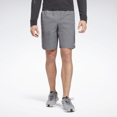Shorts Training Essentia Utility Plomo Hombre Fitness & Training