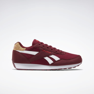 Classics Burgundy Reebok Rewind Run Shoes