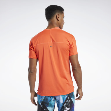 Men Training Orange ACTIVCHILL Move Tee