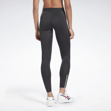 Women Fitness & Training Black VB Performance Leggings