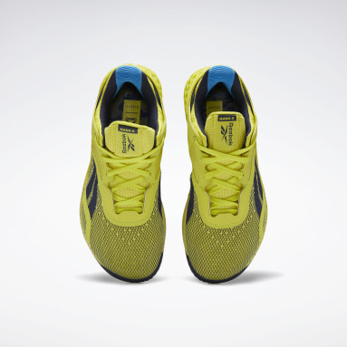 Kvinder Cross Training Yellow Reebok Nano X Shoes