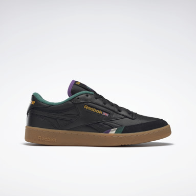 Men Classics Black Reebok x Bronze 56K Club C Revenge Shoes