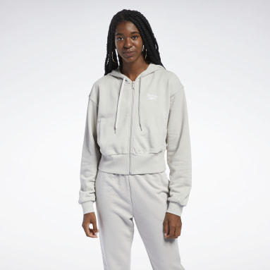 Women Classics Grey Classics Foundation French Terry Hoodie