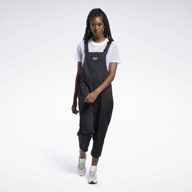 CL TS OVERALL Negro Mujer Classics