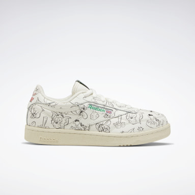 Kids Classics Green Tom and Jerry Club C 85 Shoes