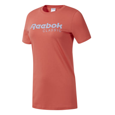 Frauen Classics Classics Reebok T-Shirt Orange