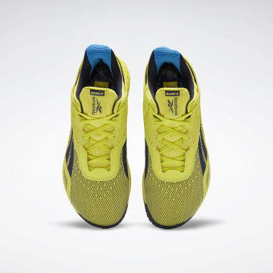 Men Fitness & Training Yellow Reebok Nano X Shoes