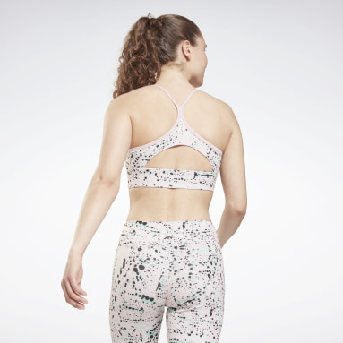 Bra Workout Ready Printed Sports Rosa Donna Fitness & Training