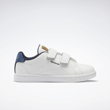 Boys Classics White Reebok Royal Complete CLN Alt Shoes