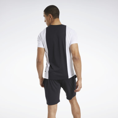 Mænd Fitness & Training Black Training Essentials Linear Logo Tee