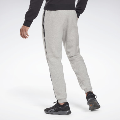 Pantalón de chándal Training Essentials Tape Gris Hombre Fitness & Training
