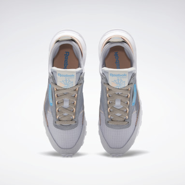 Women Classics Grey Classic Leather Legacy Shoes