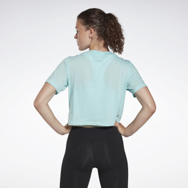 Women Fitness & Training Reebok Identity Cropped T-Shirt