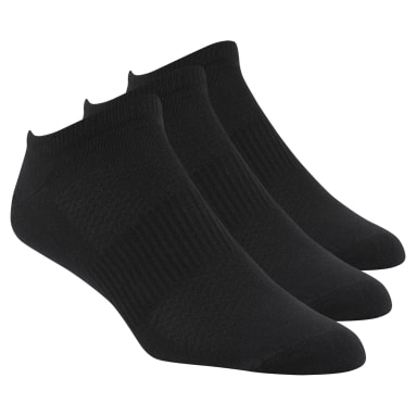 Men Cross Training Black Reebok CrossFit Mens Inside Thin Sock