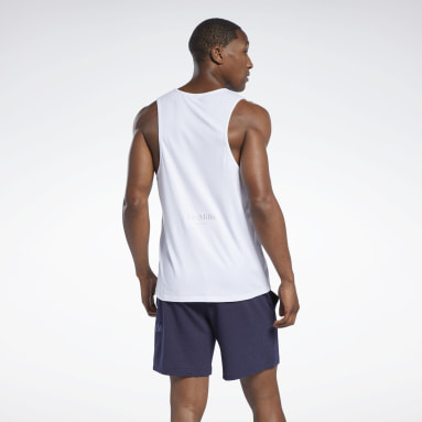 Men Studio White Les Mills® Restorative Tank Top