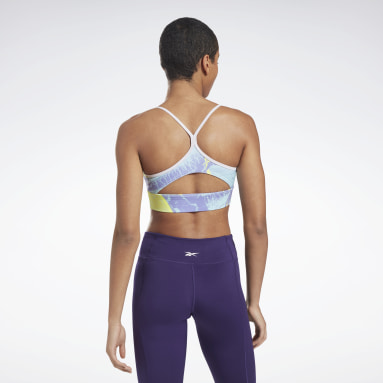 Women Studio Workout Ready Printed Sports Bra