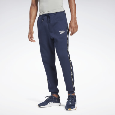 Men Fitness & Training Blue Training Essentials Tape Jogger Joggers