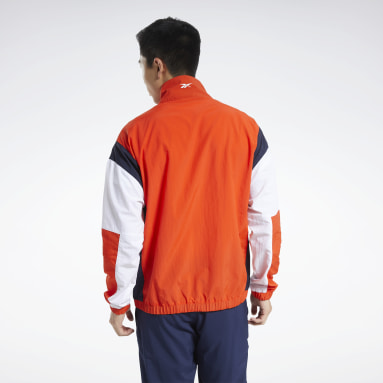 Männer Fitness & Training Training Essentials Linear Logo Jacket Rot