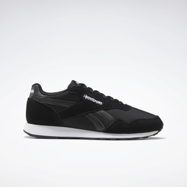 Women Classics Black Reebok Royal Ultra Shoes