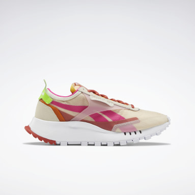 Women Classics White Classic Leather Legacy Shoes