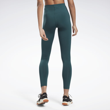 Women Training Green MYT High Rise Leggings
