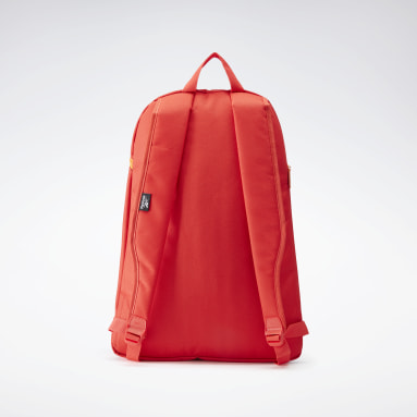 Training Red Workout Ready Follow Graphic Backpack