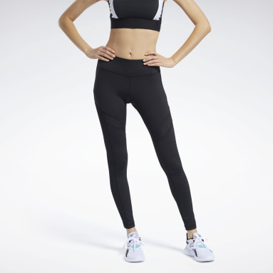 Calzas Workout Ready Mesh Negro Mujer Fitness & Training